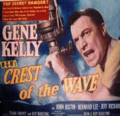 Seagulls Over Sorrento / Crest of the Wave 1954 DVD - Gene Kelly